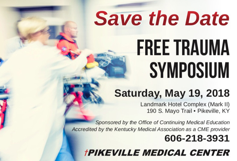 Pikeville Trauma Symposium Save the Date